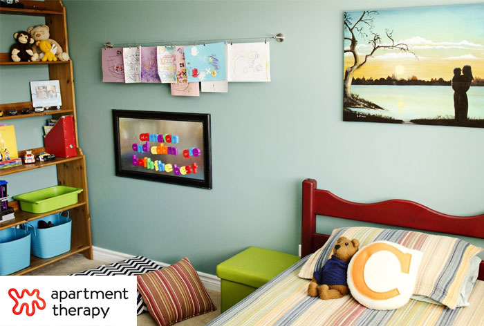 Natalie Cox Decorator featured on Apartment Therapy