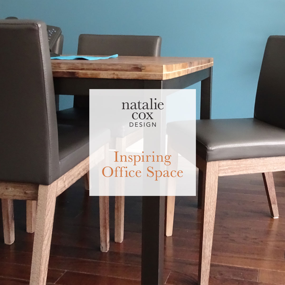 Inspiring Office Space - Natalie Cox Design - Interior Decorator - Ottawa, ON