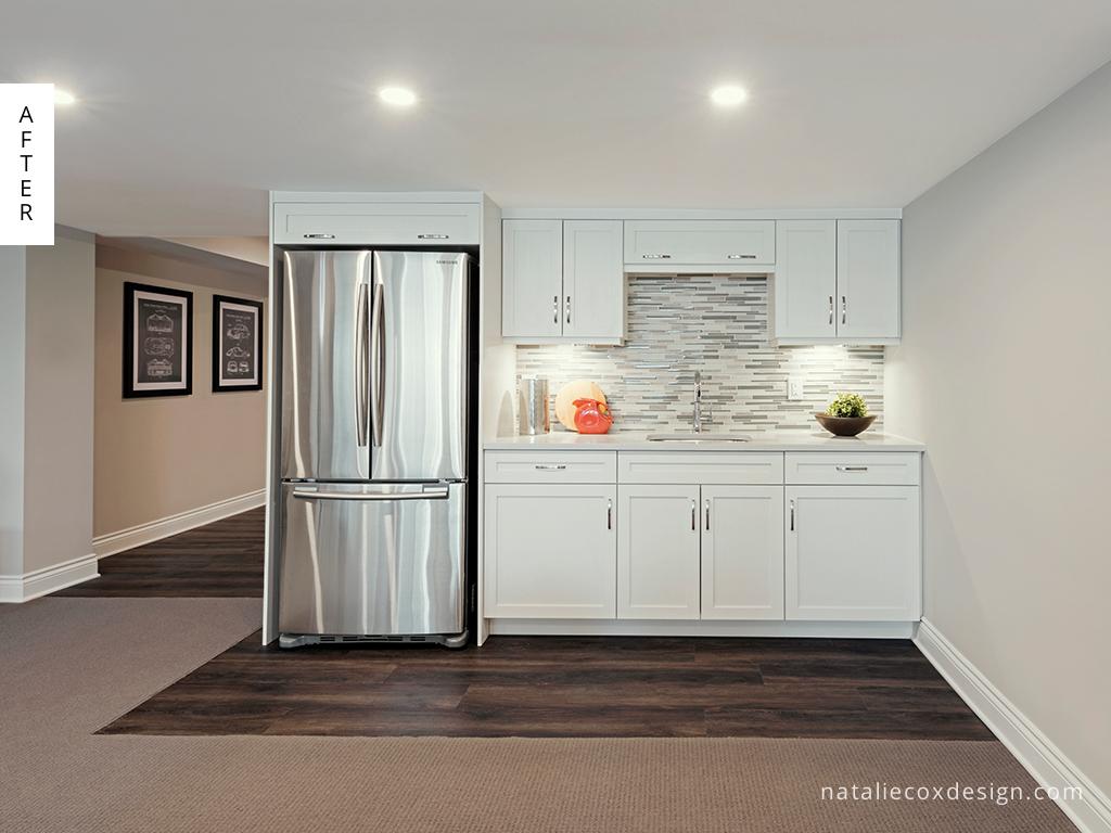 After 5 - Basement Renovation - Natalie Cox Design - Interior Decorator - Ottawa, ON